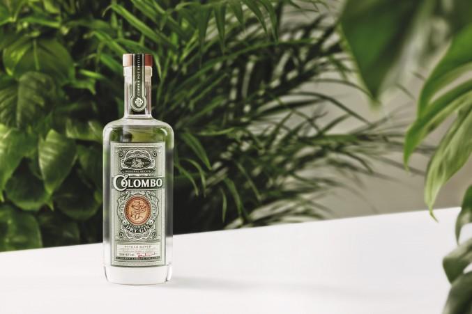 Un'immagine promozionale del Colombo Gin