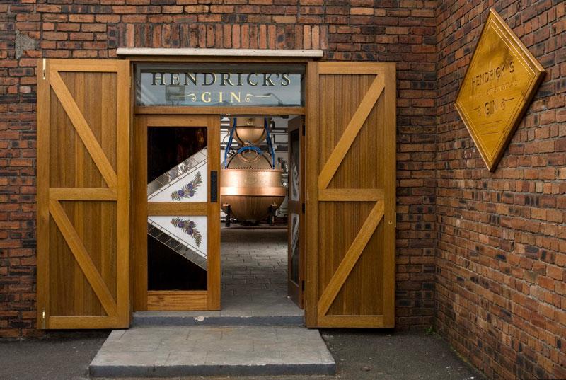 La fabbrica/museo dell'Hendrick's Gin
