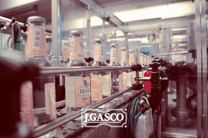 Dettaglio della linea di produzione J. Gasco