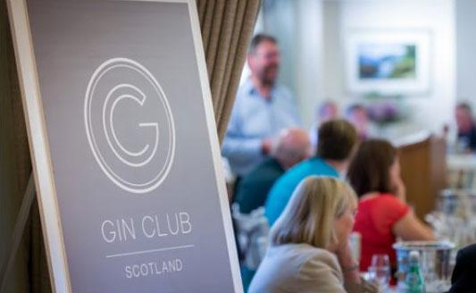 Un'immagine promozionale del Gin Club Scotland