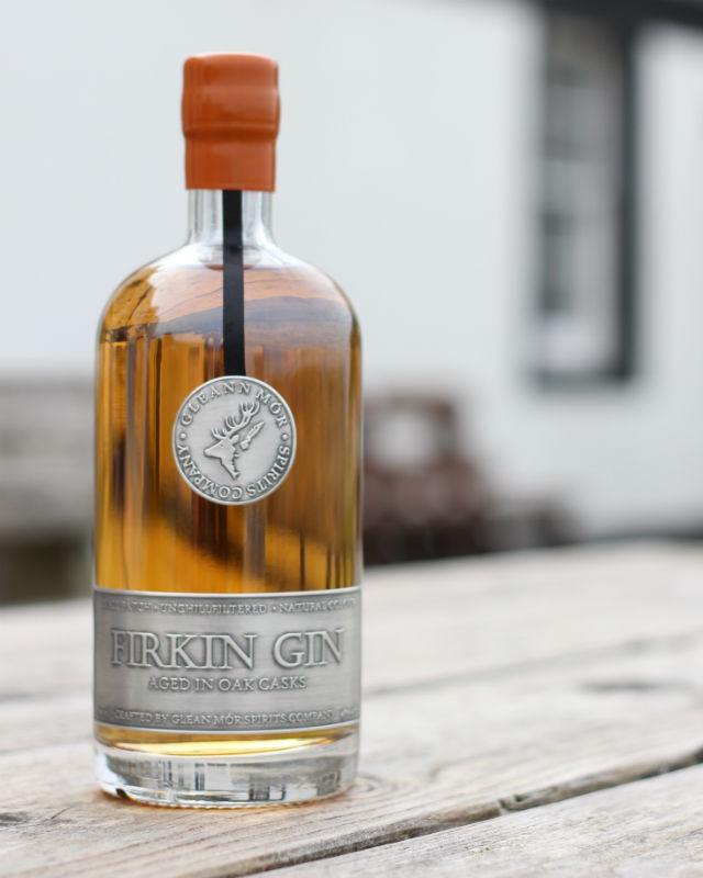 La bottiglia di Firkin Gin