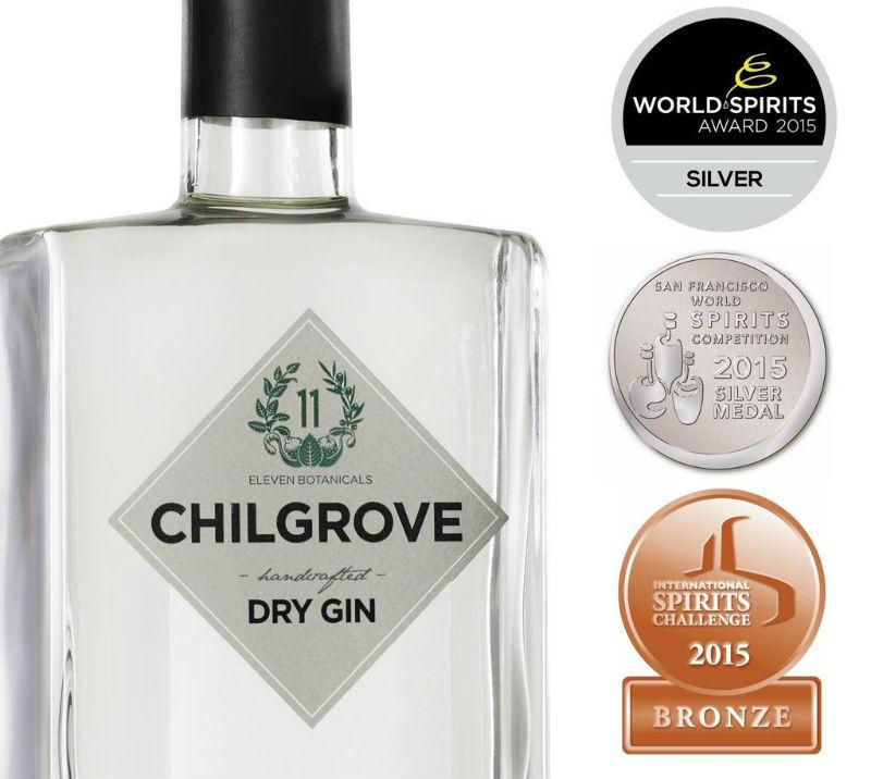 Chilgrove Gin, vincitore di svariati premi