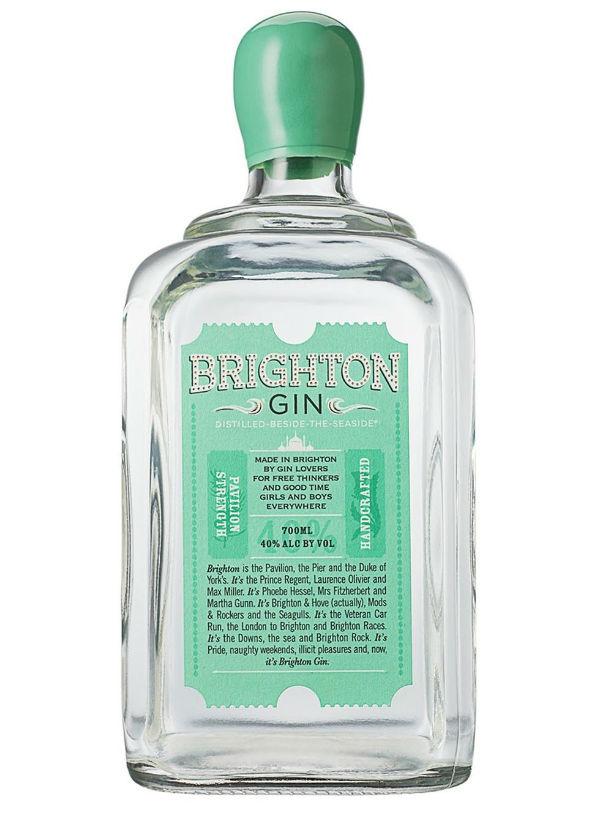 La bottiglia di Brighton Gin