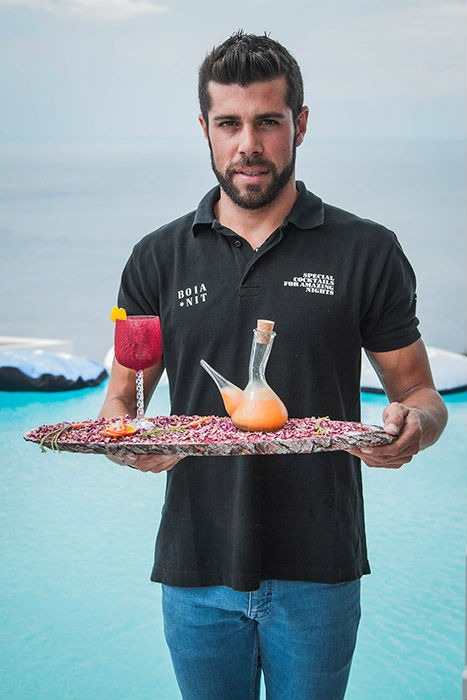 Manel Vehi, vincintore del Gin Mare Mediterranean Inspirations