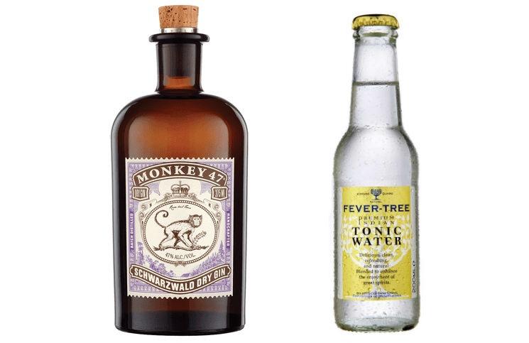 Monkey 47 e Fever Tree, votati rispettivamente Gin e Tonica preferiti dagli intervistati