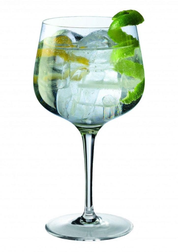 La Copa Balon, bicchiere indicato dal 28% degli intervistati come preferito per il Gin Tonic