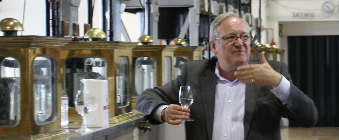 Payne, master distiller di Beefeater, è Membro dell'Ordine dell'Impero Britannico