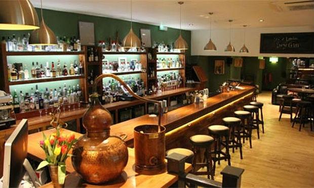 Il bar del City of London Distillery