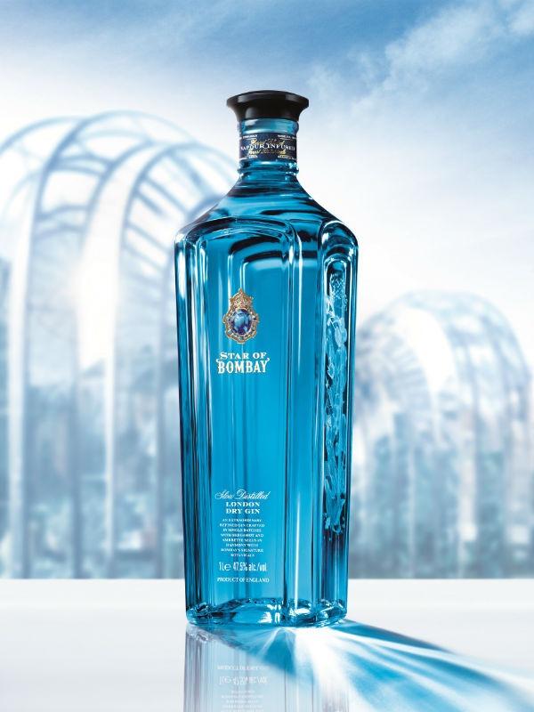 Un'immagine promozionale della bottiglia di Star of Bombay
