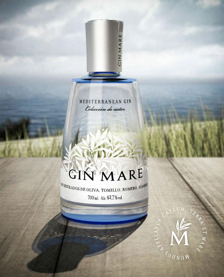 Gin Mare, un gin che ha coltivato molto l'immagine di gin mediterraneo