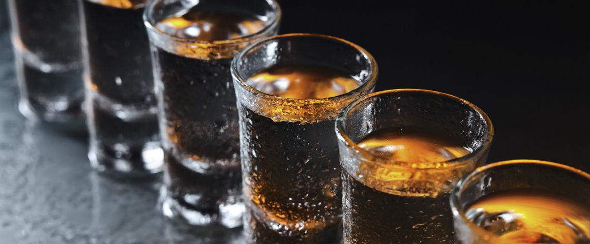 Record! Quanto sei disposto a spendere per uno shot di Gin?