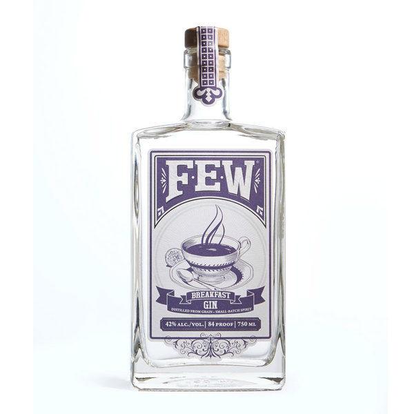 La bottiglia di Few Breakfast Gin