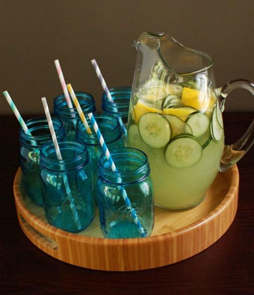 Limonata al cetriolo... e Gin!