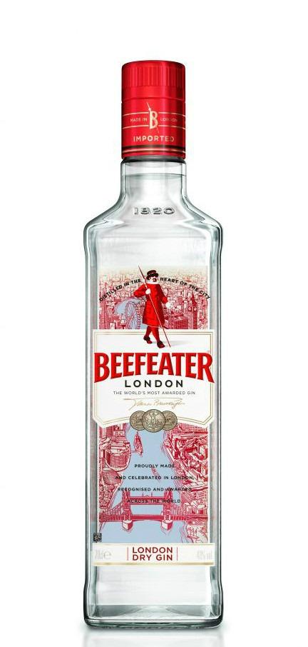 La nuova bottiglia di Beefeater London Dry Gin