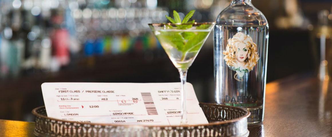 Daffy's Gin e il Martini cocktail da 50.000£