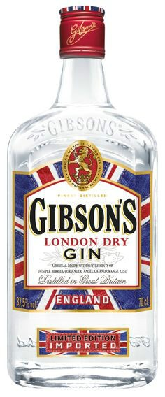 "Gibson's London Dry Gin - limited edition ""So Jean"" bottle"