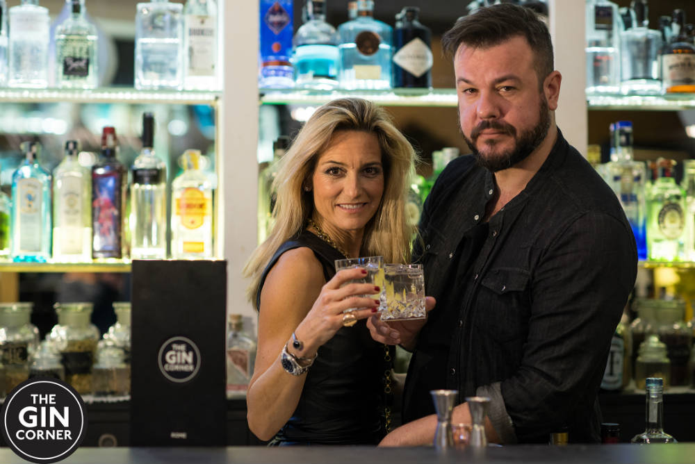 Patrick Pistolesi al Gin Corner di Roma