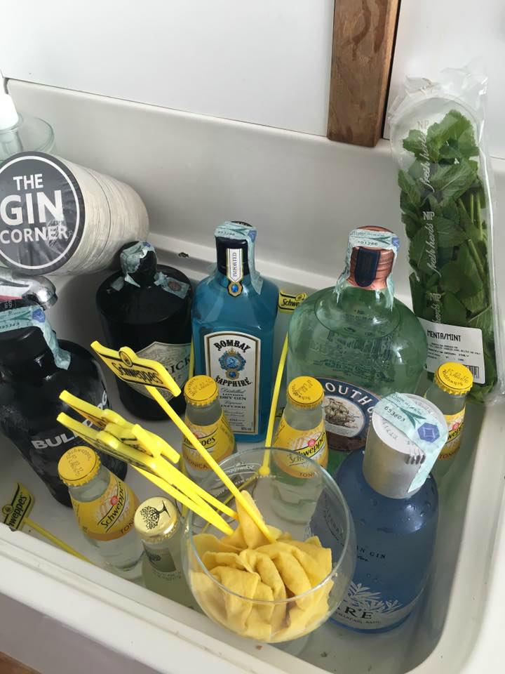 L'equipaggiamento della Gin Boat