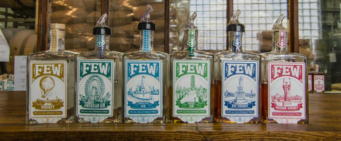 I gin del Junipalooza: intervista con il distiller di FEW Spirits