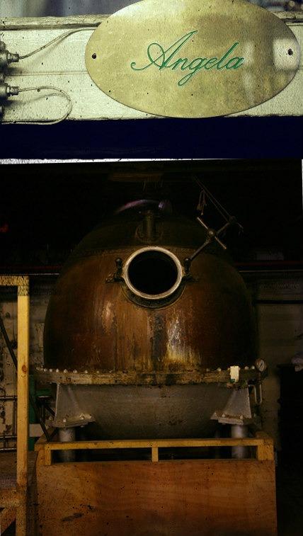 L'alambicco Angela con cui viene distillato Martin Miller's Gin