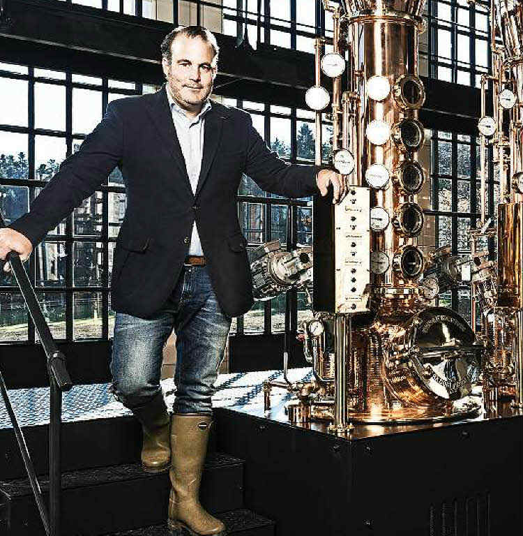 Alexander Stein, fondatore di Black Forest Distillers e creatore di Monkey 47 Gin