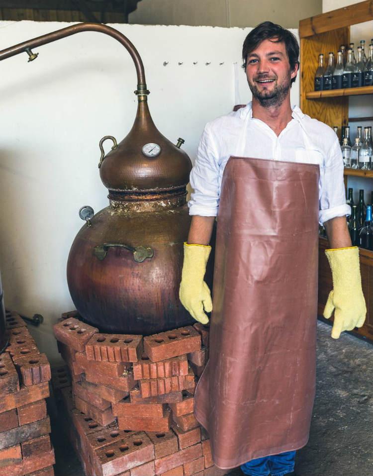 Tarquin Leadbetter, fondatore della Southwestern Distillery e creatore di Tarquin Gin