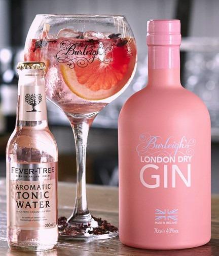 Burleighs Gin Pink Edition