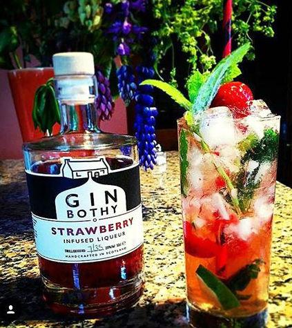 Gin Bothy Strawberry