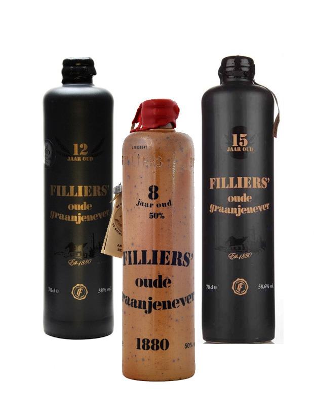 Filliers Oude Graanjenever Bottiglia