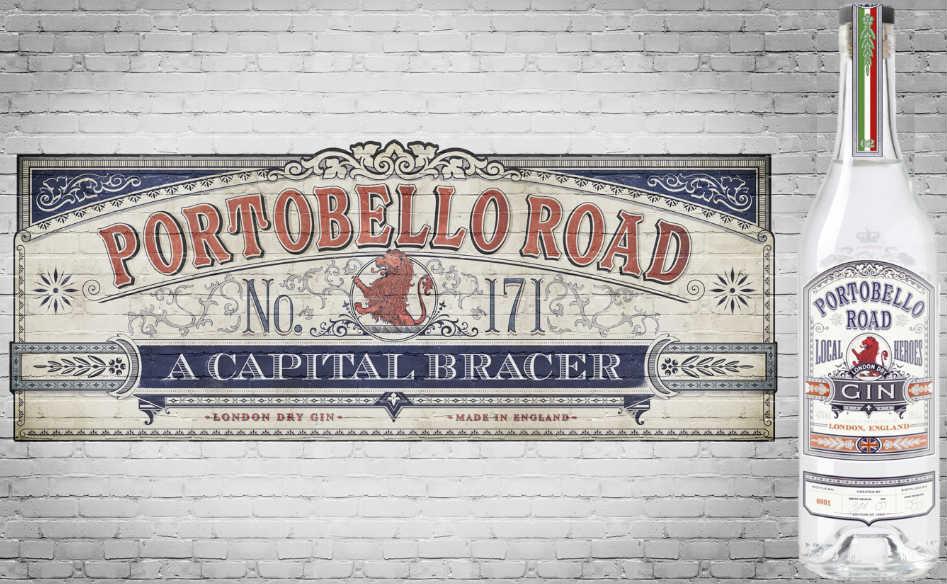 Portobello Road gin Local Heroes 02 in un'immagine promozionale