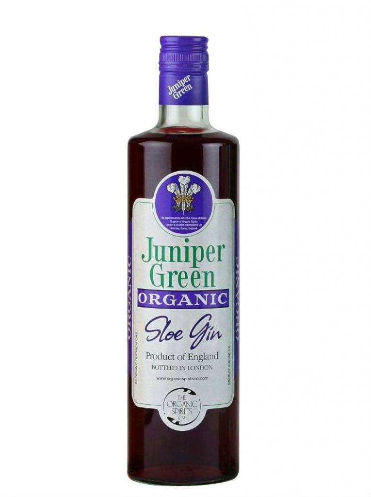 Juniper Green Organic Sloe Gin