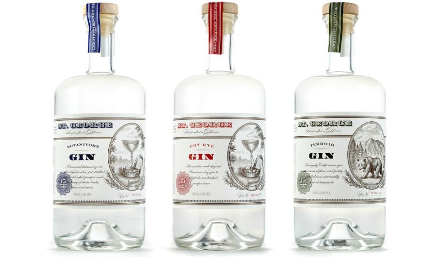La gamma St. George Gin: Botanivore, Terroir e Dry Rye