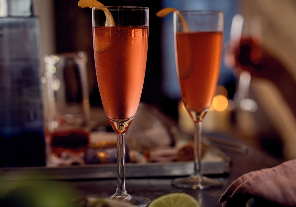 Ciroc Vodka Champagne Cosmo