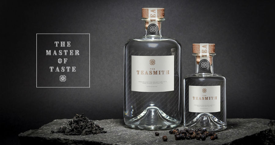 The Teasmith Gin in un'immagine pubblicitaria