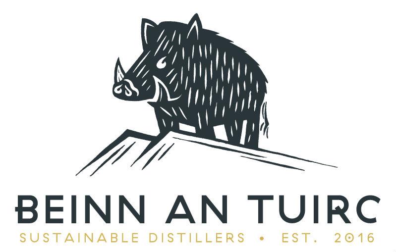 Il logo della distilleria del Kintyre Gin