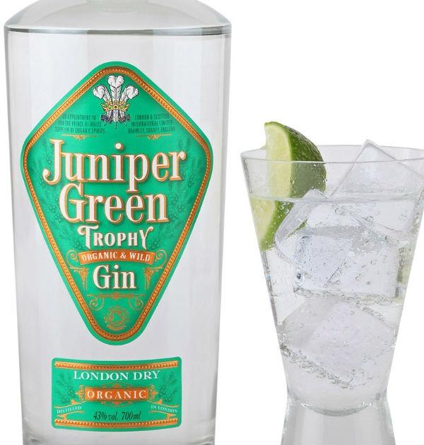 juniper trophy london dry gin
