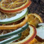 Guarnizioni di frutta essiccata fatte in casa per il Gin Tonic: facilissimo!