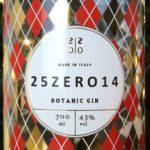 25Zero14 Gin Gold Edition: l'edizione limitata di Natale tutta italiana