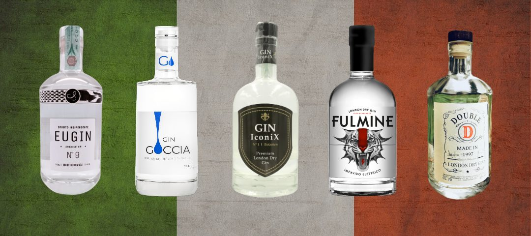 london dry gin italiani