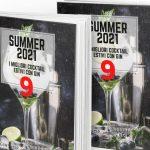 E' arrivato l'ebook gratuito Summer 2021 con tante nuove ricette a base gin