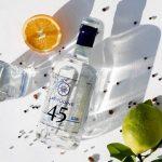 Gin Latitudine 45, le coordinate del gin di altissima qualità